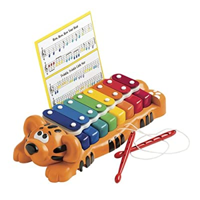 Little Tikes Jungle Jamboree Tiger Xylophone/Piano: Toys & Games