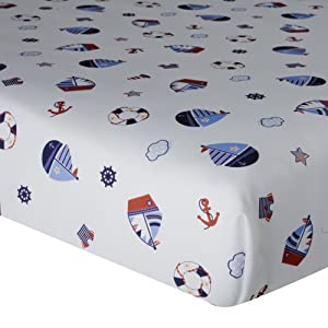 51tFeRCOiAL._SS300_ Nautical Crib Bedding & Beach Crib Bedding Sets