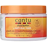 Cantu Natural Hair Leave-In Conditioning Cream 12oz Jar