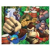 Visual Echo 3D Effect Nintendo Donkey Kong 100pc Lenticular Puzzle
