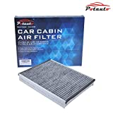 POTAUTO MAP 1043C Heavy Activated Carbon Car Cabin Air Filter Replacement compatible with FORD,LINCOLN