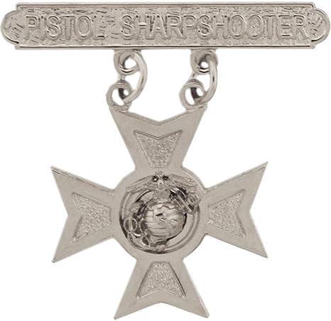 Pin  New USMC Rifle Sharpshooter Qualification Badge