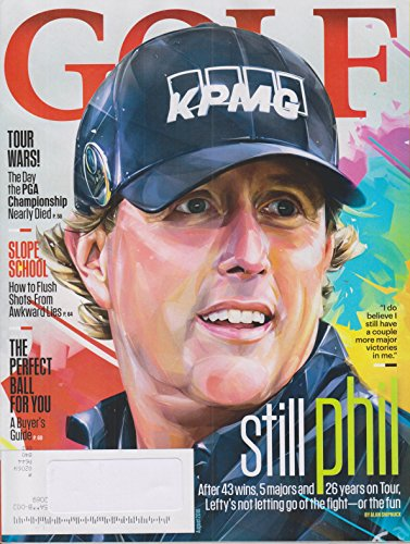 Golf August 2018 Still Phil Mickelson