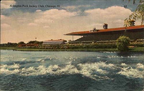 - Arlington Park Jockey Club Chicago, Illinois Original Vintage Postcard