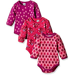 Amazon Exclusive: Care 4132 Body Bébé Fille : Lot de 3 4