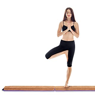 SOPHM5 Planches d/équilibre 7ft Gymnastique au Sol Pliant Poutre Skill Performance Faible Formation de Faisceau for Les Enfants /Équipement dentra/înement