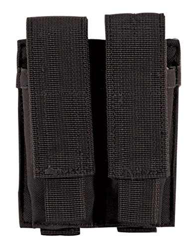 Double Mag (VooDoo Tactical 20-7975001000 Pistol Mag Pouch, Black, Double)
