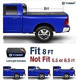 Tyger Auto TG-BC3C1038 TRI-FOLD Truck Bed Tonneau Cover 2014-2018 Chevy Silverado/GMC Sierra 1500; 2015-2018 Silverado/Sierra 2500 3500 HD | Fleetside 8' Bed