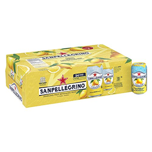 (Sanpellegrino Lemon Sparkling Fruit Beverage, 11.15 Fl. Oz Cans (24 Count))