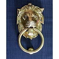 StonKraft Brass Lion Door Knocker Knockers Gate Knocker Door Accessories
