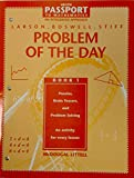 img - for Problem of the Day (Heath Passport to Mathematics: An Integrated Approach, Book 1) book / textbook / text book