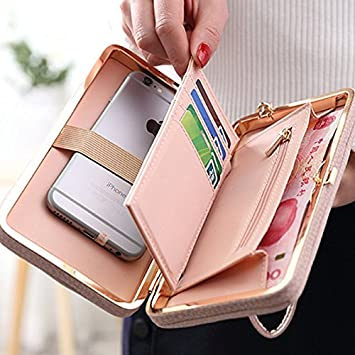Wilicosh Famous Brand Long Wallet Women Wallets Female Clutch Purse