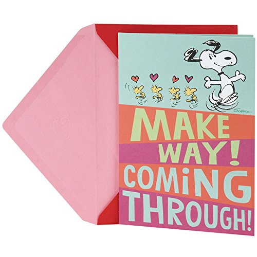 Hallmark Peanuts Valentine's Day Pop Up Card (Snoopy and Woodstocks) Photo #1