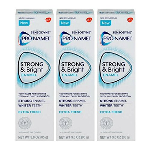 Price comparison product image Pronamel Strong & Bright, Whitening Enamel Toothpaste, Extra Fresh, 3 ounce - 3 Pack