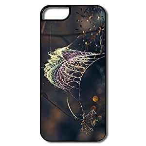 IPhone 5 5S Cases, Web Dew White/black Case For IPhone 5