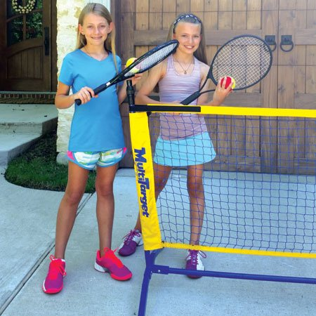 Oncourt Offcourt Driveway Tennis Package - Includes One 6' Net / 2 Whistler Racquets / 6 Foam Tennis Balls by Oncourt Offcourt (Image #2)