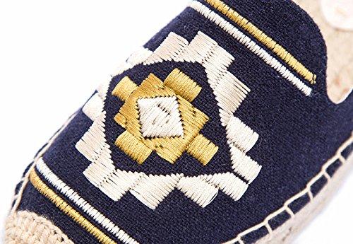 donna SimpleC SimpleC Navy Espadrille Espadrille UK donna I6x0Eq1wO