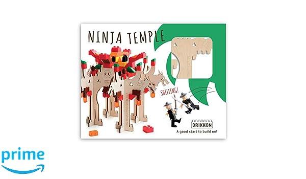 Brikkon 1703 Ninja Temple: Amazon.es: Juguetes y juegos