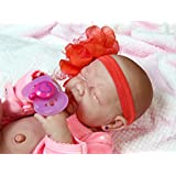 """Handsome Baby Doll Realistic 15"""" Anatomically Correct Real Vinyl Bathable Berenguer Preemie Lifelike Reborn (Crying Baby Girl)"""