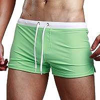 aucou de los hombres Swim Trunks Briefs Junta Shorts Swimwear con cierre Bolsillo