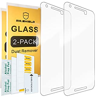 Mr.Shield [2-Pack] for Huawei (Google) Nexus 6P 2015 Newest [Tempered Glass] Screen Protector with Lifetime Replacement