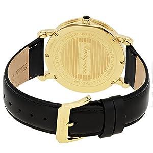 Montegrappa Yellow Gold NeroUno Slim Men's Swiss Made Watch IDNMWAYI