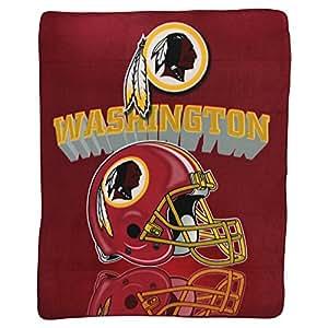 "Washington Redskins Super Soft Fleece Blanket (Dimensions 50"" x 60"")"