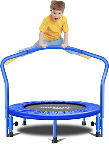 Gardenature Trampoline-36 Portable Trampoline for Kids