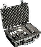 Pelican 1500 Case with Foam (Camera, Gun, Equipment, Multi-Purpose) - Black