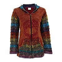 GreaterGood Center Stage Embroidered Paw Print Hooded Jacket