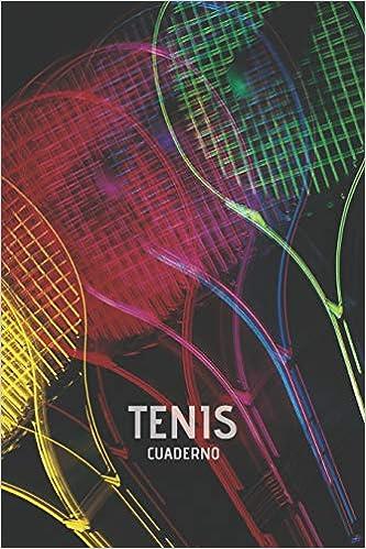 Tenis Cuaderno: Cuaderno Lineado Tenis Jugadores Padel Deporte ...