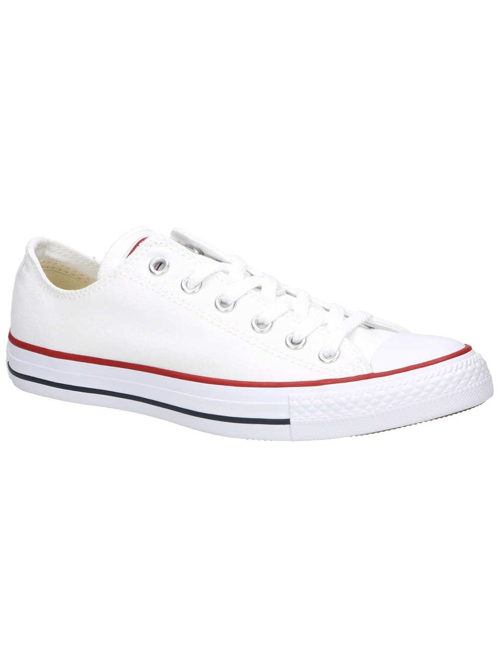 Converse Unisex Chuck Taylor All Star Ox Low Top Optical White Sneakers - 12 D (M) Optical white