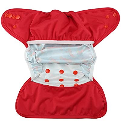 HappyEndingsTM One Size Cloth Diaper Cover AI2 System