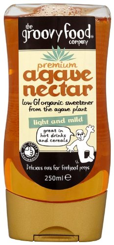 Sweet Slim Sweetener (The Groovy Food Company Organic Agave Nectar Natural Sweetener Mild (250ml))