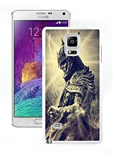 High Quality Samsung Galaxy Note 4 Case ,Cool And Fantastic Designed Case With skyrim 04 White Samsung Galaxy Note 4 Cover