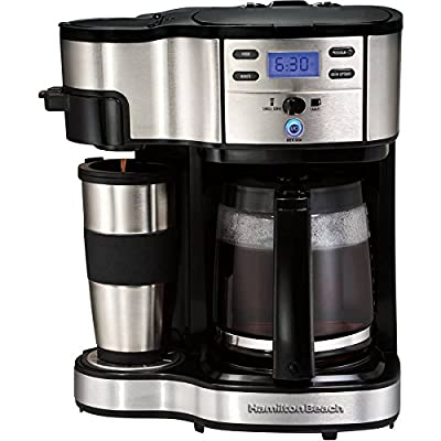 Hamilton Beach 2-Way Brewer Durable And Long-lasting Stainless Steel.