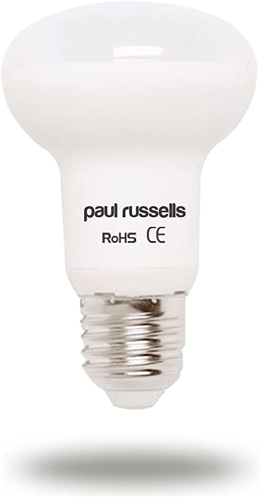 Paquete de 3 bombillas LED reflectoras de 7 W E27 ES, rosca Edison Edison de Paul