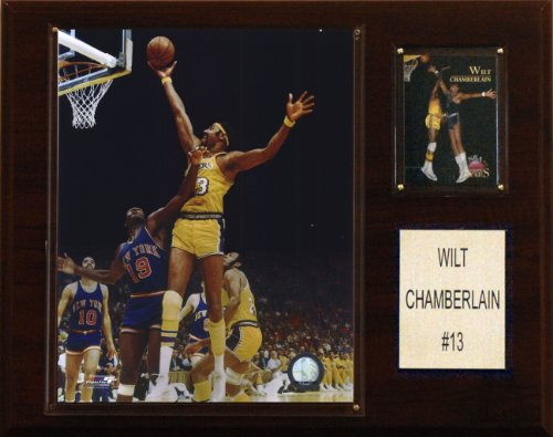 NBA Wilt Chamberlain Los Angeles Lakers Player Plaque