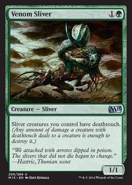 Sliver Magic Gathering (Magic: the Gathering - Venom Sliver (205/269) - Magic)