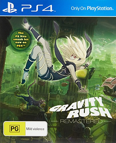 Gravity Rush Remastered PS4 Playstation 4 game -