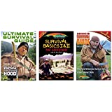 Ron Hood Collection (Ultimate Survival Guide, Survival Basics 1 and 2, Advanced Survival Guide) 3 DVD's
