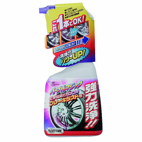 カーメイト 洗車用品 クリーナー ブレーキダスト マグナショット 500ml PS60の商品画像