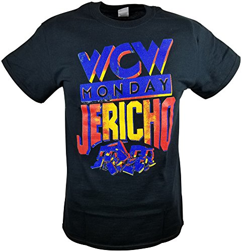 FREEZE Chris Jericho WCW Jericholic Mens Black T-Shirt M