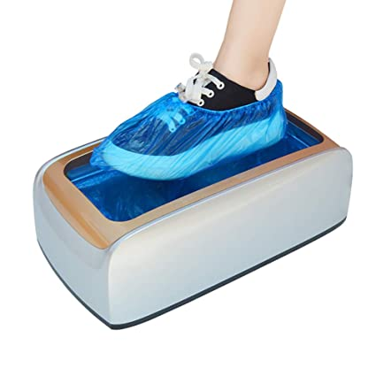 FHTDX Máquina de dispensador de Zapatos automático Antideslizante Reutilizable, Manos Libres, Zapatos Impermeables,