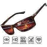 4b166adaea SOXICK Polarized Sunglasses for Men Women - Adjustable Metal Frame ...