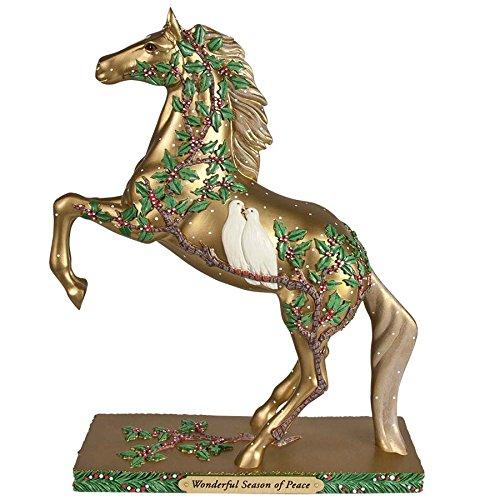 Trail of Painted Ponies Tropp Figurine Wonderful Seaso