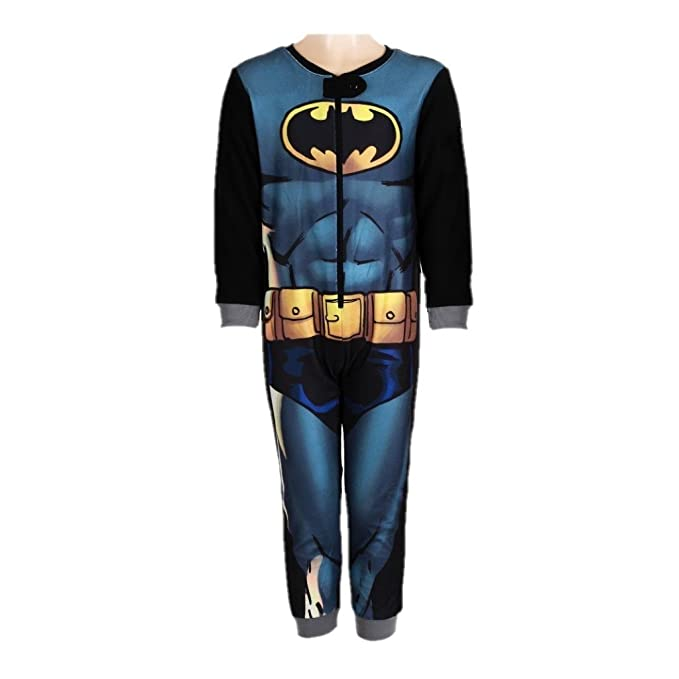 Batman,DC Comics,Superman - Pijama dos piezas - para niño Negro negro 3