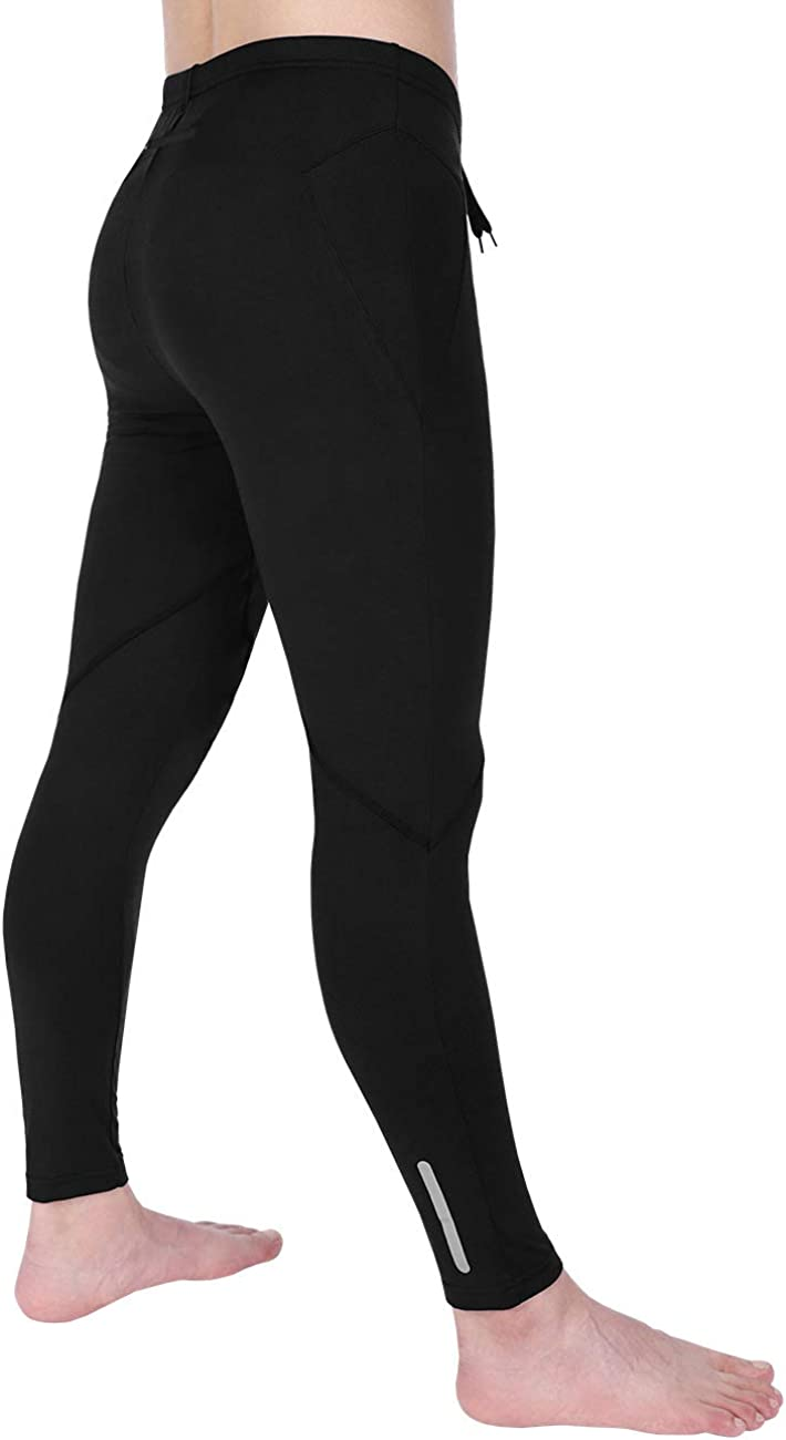 DISHANG Men's Compression Pants Workout Sports Tights Running Leggings Thermal ColdGear Winter