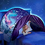 ZyXy Kids Pop Up Bed Tent Dream Tent Fairy Playhouse Play Tent Mosquito Net Bedroom Festival Decoration Tent (Winter Wonderland)
