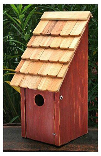 Heartwood 192D Bluebird Bunkhouse Bird House in Redwood Finish ()
